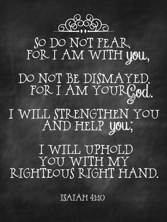 Isaiah 41+10
